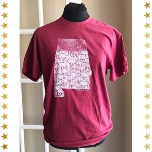 """Alabama """"Elephant"""" T-shirt - Size S"""